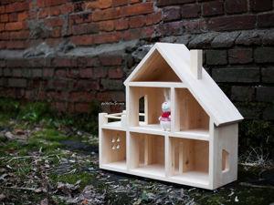 Создаем кукольный домик своими руками. Ярмарка Мастеров - ручная работа, handmade.