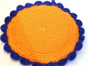 Учимся вязать крючком. Урок 9. Вязание по кругу столбиками без накида. Ярмарка Мастеров - ручная работа, handmade.