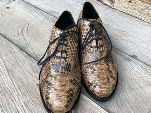 Разнообразие Моделей Обуви из Кожи Питона. Ярмарка Мастеров - ручная работа, handmade.
