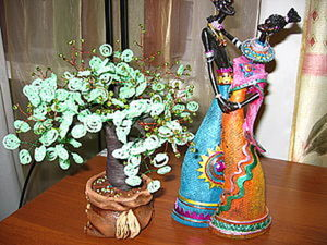 Мастерим дерево из бисера. Ярмарка Мастеров - ручная работа, handmade.