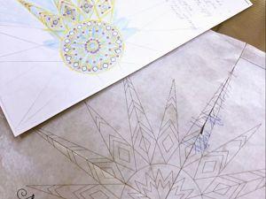 Разработка вышивки для коллекции дизайнера. Ярмарка Мастеров - ручная работа, handmade.
