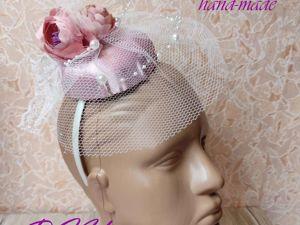 Создаем шляпку-вуалетку своими руками. Ярмарка Мастеров - ручная работа, handmade.
