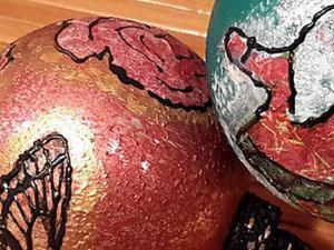Видео мастер-класс: декорируем ёлочный шарик. Ярмарка Мастеров - ручная работа, handmade.