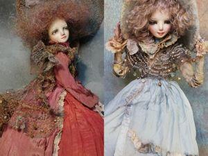 11%скидки на кукол до 7 октября. Ярмарка Мастеров - ручная работа, handmade.