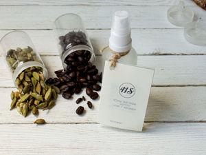 Гидролат  «Кофе и кардамон». Ярмарка Мастеров - ручная работа, handmade.