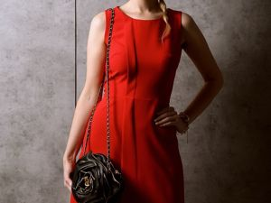 «Скидка -25% на красное платье Льеж». Ярмарка Мастеров - ручная работа, handmade.