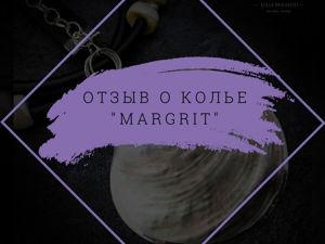 Отзыв о колье  «margrit». Ярмарка Мастеров - ручная работа, handmade.