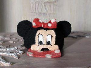 Шьем кепочку Минни Маус для куклы. Ярмарка Мастеров - ручная работа, handmade.