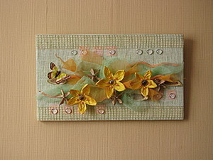 Создаем панно «Желтые цветы». Ярмарка Мастеров - ручная работа, handmade.