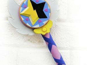 Делаем волшебную палочку Стар Баттерфляй. Видеоурок. Ярмарка Мастеров - ручная работа, handmade.
