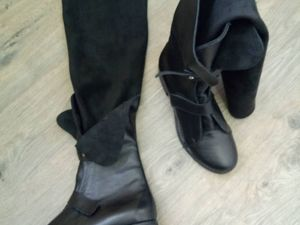 Стильные ботинки -ботфорты. Ярмарка Мастеров - ручная работа, handmade.