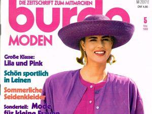 Парад моделей Burda Moden № 5/1989. Ярмарка Мастеров - ручная работа, handmade.