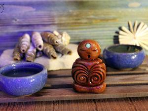 Чайная фигурка  «Аумчик». Ярмарка Мастеров - ручная работа, handmade.