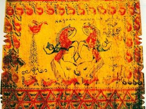 Основные черты мезенской росписи или Как отличить подделку. Ярмарка Мастеров - ручная работа, handmade.