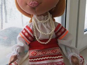 Белорусочка-текстильная кукла. Ярмарка Мастеров - ручная работа, handmade.