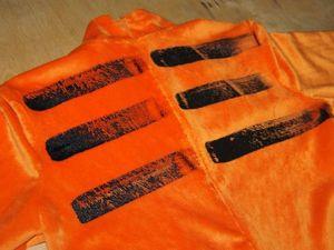 Как нанести несложный рисунок на ткань. Ярмарка Мастеров - ручная работа, handmade.