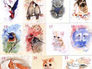 Распродажа открыток в октябре!!!. Ярмарка Мастеров - ручная работа, handmade.