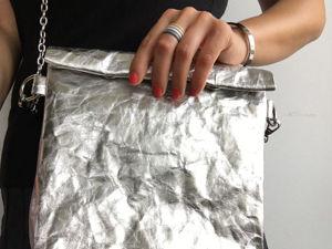 Шьем стильную сумку из швейного крафта. Ярмарка Мастеров - ручная работа, handmade.