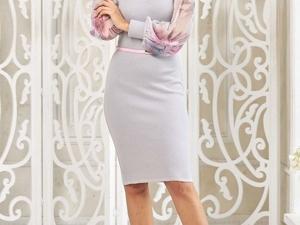 Аукцион на Элегантное вязаное платье! Старт 2500 р.!. Ярмарка Мастеров - ручная работа, handmade.