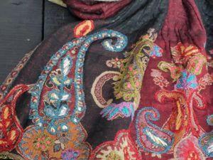 Акция! -15% на эксклюзивные палантины извареной шерсти. Ярмарка Мастеров - ручная работа, handmade.