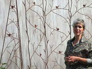 Обзор опор для вьющихся растений  «LaNaturel» . 3-в-1 Садовая решетка+ шпалера+садовый обелиск. Ярмарка Мастеров - ручная работа, handmade.