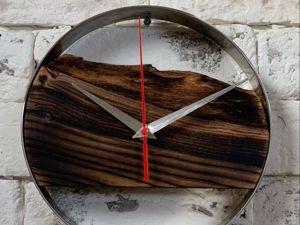 Изготавливаем настенные часы в стиле Loft. Ярмарка Мастеров - ручная работа, handmade.
