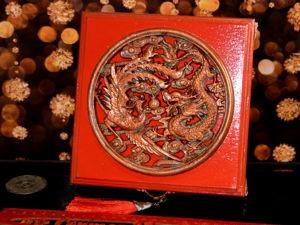 Шкатулка для привлечения денег  «Дракон и феникс». Ярмарка Мастеров - ручная работа, handmade.