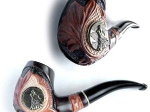 Новинка!!! Курительная трубка Wolf. Ярмарка Мастеров - ручная работа, handmade.