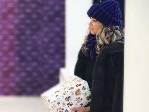 На пике моды предстоящего сезона — объемная шапка!. Ярмарка Мастеров - ручная работа, handmade.