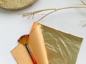 Секреты золочения картин поталью. Ярмарка Мастеров - ручная работа, handmade.