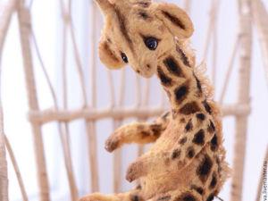 Рисуем пятна для жирафа тедди. Ярмарка Мастеров - ручная работа, handmade.