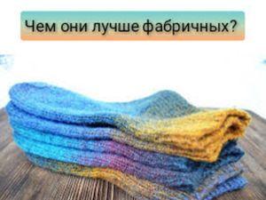 Чем носки ручной работы лучше фабричных?. Ярмарка Мастеров - ручная работа, handmade.