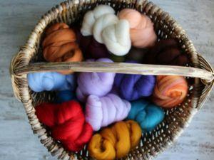 Предзаказ! Кардочёс, меринос, волокна. Ярмарка Мастеров - ручная работа, handmade.