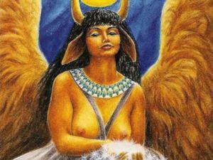 Хатхор — богиня женственности. Ярмарка Мастеров - ручная работа, handmade.