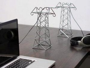 Ни начала, ни конца: 25 идей как навести порядок в проводах. Ярмарка Мастеров - ручная работа, handmade.