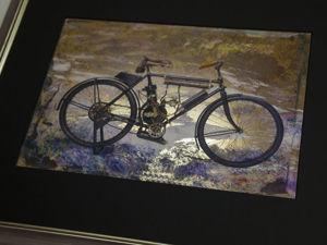 Картины в авторской технике исполнения  на металлизированной основе. Ярмарка Мастеров - ручная работа, handmade.