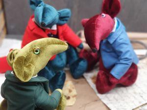 Видео крыс «Три бархата». Ярмарка Мастеров - ручная работа, handmade.