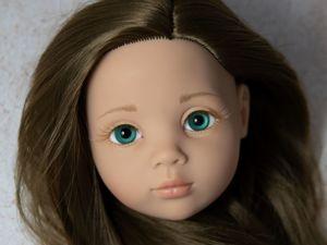 Глаза сферы 18мм на кукле Gotz (примеры). Ярмарка Мастеров - ручная работа, handmade.