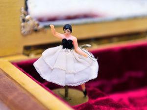 Музыкальная Шкатулка с Балериной Италия Неаполь Швейцария Reuge Мелодия Доктор Живаго Лара Вальс. Ярмарка Мастеров - ручная работа, handmade.
