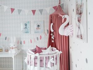 Modern Nursery Rooms Trends. Livemaster - handmade