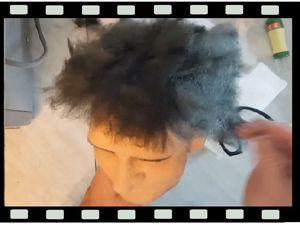 Делаем парик для реалистичной куклы. Ярмарка Мастеров - ручная работа, handmade.