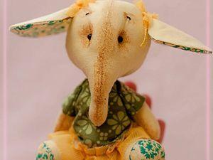 Шьем слоняшку Лизу. Ярмарка Мастеров - ручная работа, handmade.