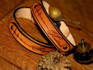 Изготавливаем парные браслеты для влюбленных. Ярмарка Мастеров - ручная работа, handmade.