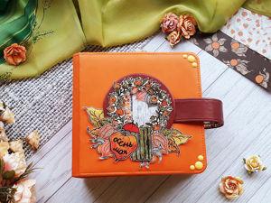 Видеообзор альбома для фотографий  «Рыжая осень». Ярмарка Мастеров - ручная работа, handmade.