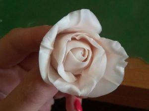 Мастер-класс для начинающих: кустовая роза из холодного фарфора. Ярмарка Мастеров - ручная работа, handmade.