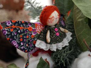 Мастер-класс по созданию текстильной куклы-броши. Ярмарка Мастеров - ручная работа, handmade.