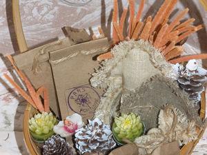 Стильно и просто упаковываем чай для новогоднего подарка. Ярмарка Мастеров - ручная работа, handmade.
