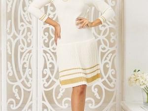 Аукцион на Очаровательное вязаное платье! Старт 2500 р.!. Ярмарка Мастеров - ручная работа, handmade.