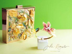 Вышитая сумочка Flor de Mango от Julie Romero. Ярмарка Мастеров - ручная работа, handmade.