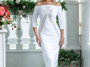 Аукцион на Нарядное свадебное платье! Старт 3000 руб.!. Ярмарка Мастеров - ручная работа, handmade.